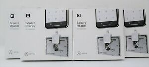 Square Reader for Magstripe Lightning Connector for iPhone Device - Bundle of 5