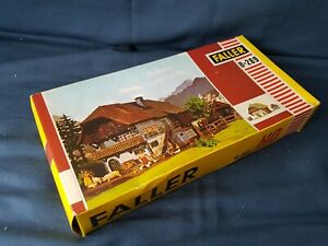 RARE FALLER HO B-289 BLACK FOREST FARM HOUSE UNMADE KIT APPEARS COMPLETE BOXED