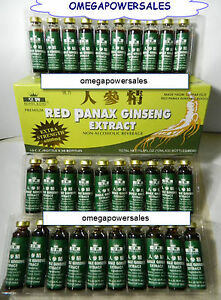 ROYAL KING RED PANAX GINSENG EXTRACT 1 BOX 30 BOTTLES  EXTRA STRENGTH 6000mg