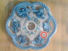 Lave-linge et sèche-linge bleus