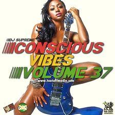 CONSCIOUS VIBES VOL 37 REGGAE ROOTS CULTURE LOVERS ROCK MIX CD
