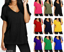 Short Sleeve V Neck Unbranded T-Shirts for Women