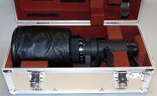 Nikon ED NIKKOR 500mm 1:4 P Lens with Carrying Case