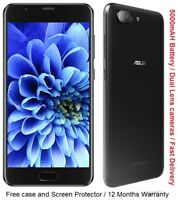 "Asus Zenfone 4 Max Plus ZC550TL 5.5"" Screen Octa Core Android 7 3GB RAM 32GB"
