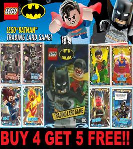 Lego Batman DC Trading Cards  ☆ BUY 4 GET 5 FREE!! ☆ 2019 ☆ FREEPOST! #1-202