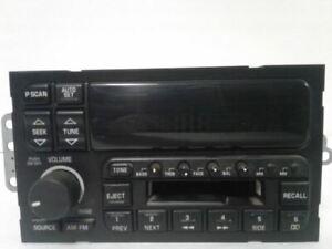 Radio Receiver Cassette Deck Player 1995 95 Buick LESABRE 16165194