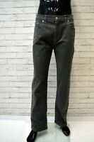 Pantalone HUGO BOSS Uomo Taglia 34 Jeans Slim Fit Pants Man Elastico Grigio