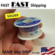 .3mm Rosin Core Solder Wire 63/37 Tin/Lead Flux Solder Welding  - Roll 30'