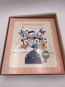 NEW Hallmark Disney Baby Memory Album Journal Record Keepsake Book First 5 Yrs