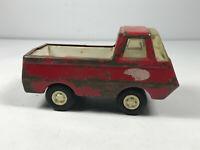 Vintage Red Tonka Pick-Up Truck Die cast toy #1