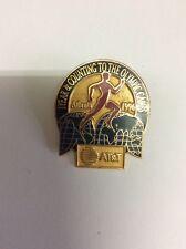 Juegos Olímpicos de Atlanta 1996 AT&T patrocinador cuenta regresiva Pin de un año