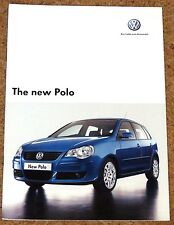 2005 New Model VW POLO Sales Brochure - Sport SE S E  - Excellent Condition