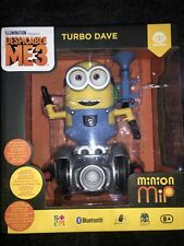 Minion MiP Turbo Dave - Fun Balancing Robot Toy by WowWee - Bluetooth -- New --