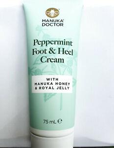 Manuka Doctor Foot & Heel Cream with Manuka Honey Royal Jelly 75ml Softens Skin