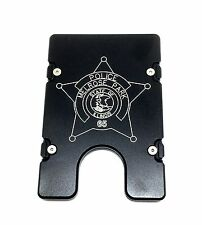 BilletVault Wallet Aluminum RFID protection Police Badge Personalized