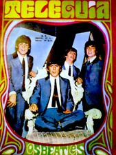TV Guide 1968 The Beatles Paul John George Ringo International Tele Guia VG COA