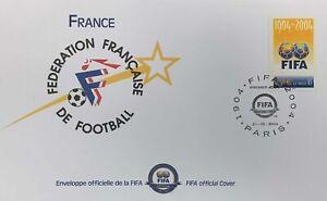 Centenario FIFA 1904-2004   Busta Francia - FIFA 100 years Official Cover nuova