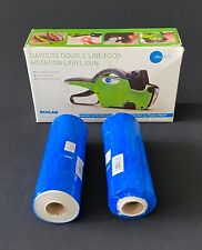 Lot Ecolab Daydots Double Line Prep Food Rotation Label Gun +Extra Labels!