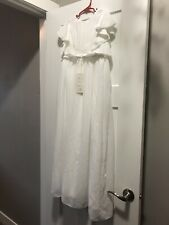 Girls Wedding Dress Size 10 & 11 White Dress