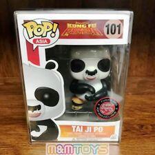 Funko Pop Asia 2016 Exclusive: Kung Fu Panda : Tai Ji Po #101 Vinyl  w/Case