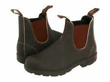 Blundstone Original 500 Unisex Leather Pull On Boots - Stout Brown
