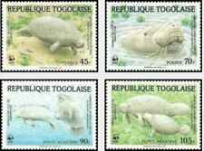 Timbres Faune marine Togo 1151/2 PA516/7 ** lot 27023