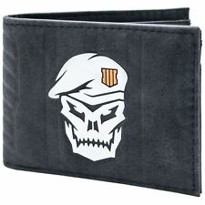 Official Call of Duty Black OPS 4 Skull Soldier ID & Card Wallet *SECOND*