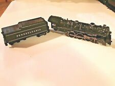 Mantua 4073 Locomotive Steam Pennsylvania 4-6-2 + Tender HO