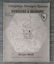 Dungeons & Dragons Campaign Hexagon System -  HEX 2623 - Map 1 Judges Guild 1977