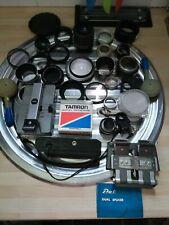 MIXED JOB LOT/BUNDLE PHOTOGRAPHIC/PHOTOGRAPHY EQUIPMENT LENSES/SPLICERS/MOUNTS
