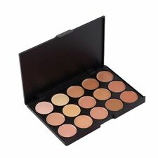 15 Color Face Make Up Contour Highlight Bronze Cream Concealer Palette 1
