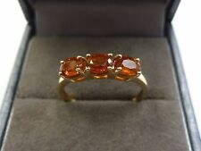 10ct Gold Orange Kyanite Ring  Size N   (Jacque Christie collection)
