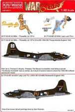 Kits World Decals 1/48 BOEING B-17F FLYING FORTRESS Piccadilly Lily & Lady Luck