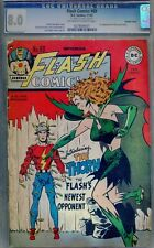 FLASH COMICS #89  CGC  8.0    Double cover!  1st Rose and Thorn