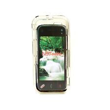 System-S Transparent Silicon case Hülle Tasche für Nokia N97 Mini
