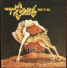 TIGRES TAKE IT ALL 1988 LP Mint - HEAVY METAL Dave Holland Judas Priest Produced