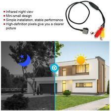 1000TVL Wired Mini HD Video Surveillance IR CCTV Micro Tiny Audio Camera Black