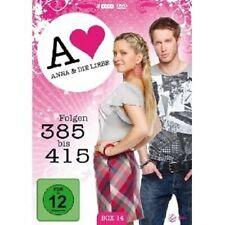 ANNA UND DIE LIEBE - BOX 14 (FOLGEN 385-415) 4 DVD NEU