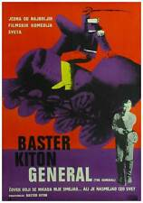The General Movie Poster 11x17 Yugoslavian Buster Keaton Marion Mack Glen