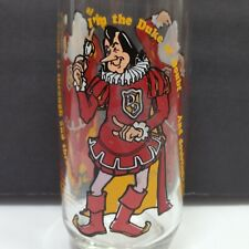 Burger King Corporation Duke Of Doubt Glass Cup Vintage Collectible Series 6""