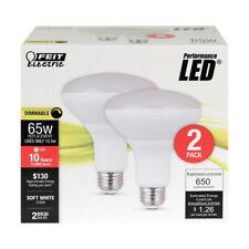 FEIT 105 watts BR30 LED Bulb 650 lumens Soft White Track and Recessed 65 Watt