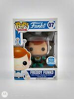 FUNKO POP!: ASTRONAUT FREDDY FUNKO W/ RAY GUN FUNKO SHOP EXC #07 *RARE UK STOCK*