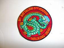 b1253 USMC Vietnam era 1st Battalion 9th Marines The Walking Dead dragon R7D
