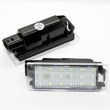 2x Renault LED SMD Kennzeichenbeleuchtung Module Leuchten Birnen Set Kennzeichen