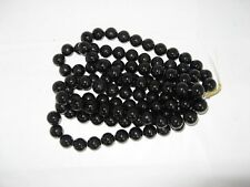 5 Strands 18mm Black Mountain Jade Round beads