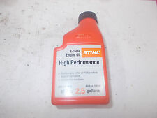 "1 Stihl High Performance Oil Mix 50:1 2-Cycle ""6.4 oz Bottle Per 2.5 Gal"" #L"