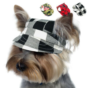 Baseball Hats for Dogs with Ear Holes Adjustable Outdoor Sport Sun Protect Cap