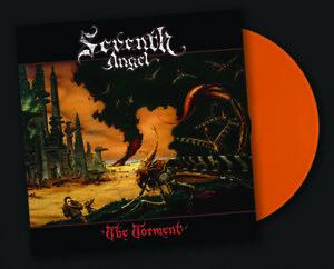 SEVENTH ANGEL - THE TORMENT (Legends Remastered) Orange Vinyl, 2018, Retroactive