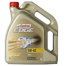 Castrol EDGE Titanium FST 5W-40  5 Litro Barattolo