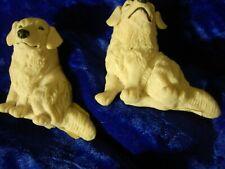 Kuvasz Dog breed figurine magnet detailed realistic